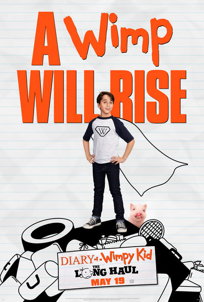 Diary of a Wimpy Kid: Diary of a Wimpy Kid Books - Books 1,3,4,5,6 + movie diary