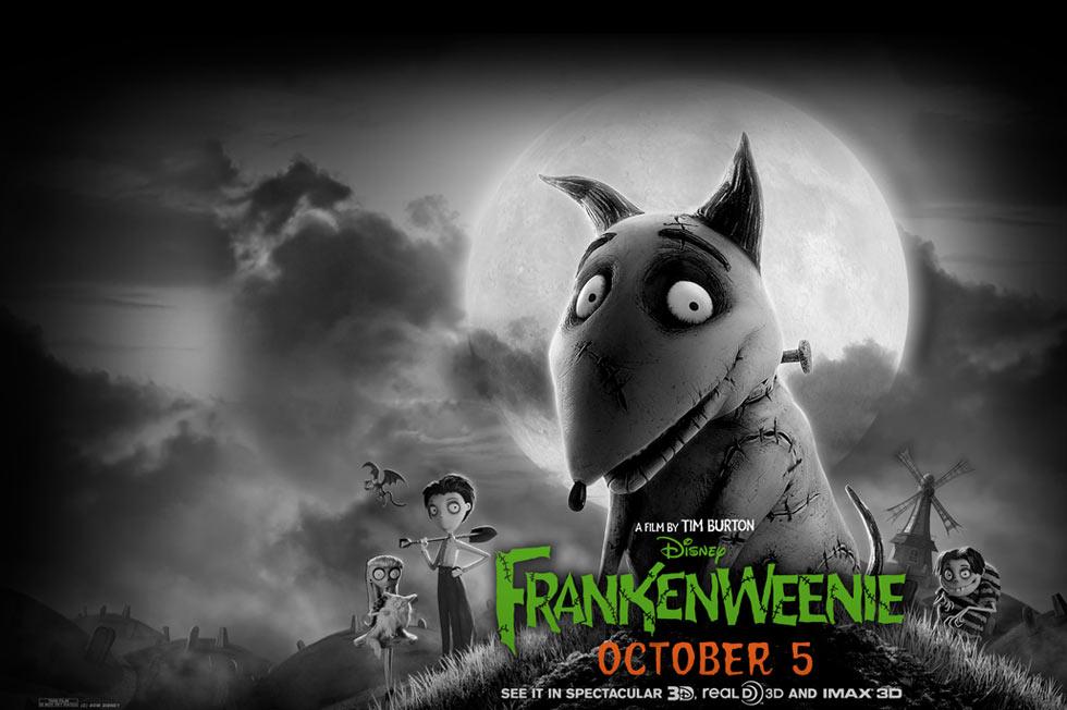 《科学怪狗》(Frankenweenie)全新预告 角色齐亮相波顿欲翻身