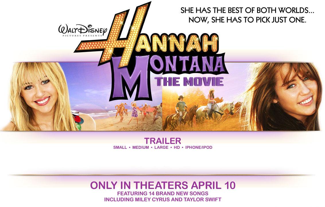 apple trailers hannah montana the movie