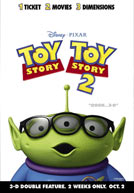 Toy Story: 3D Double Feature Poster