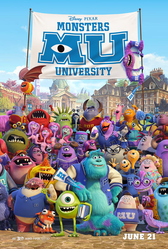 《怪兽大学》(Monsters University)终极预告!预告#4