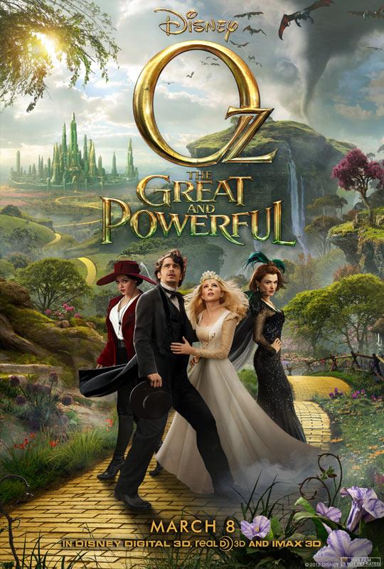 《魔境仙踪》(Oz the Great and Powerful)预告片以及片段