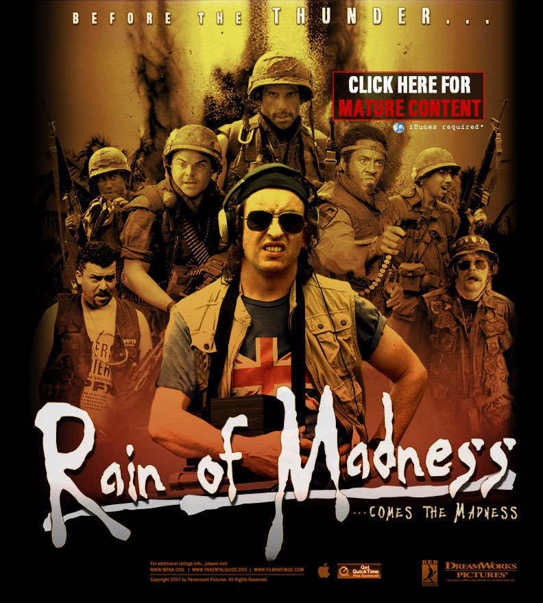 rain of madness poster art
