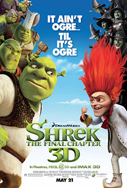Shrek Forever After poster