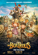 Movie poster to 'The Boxtrolls'