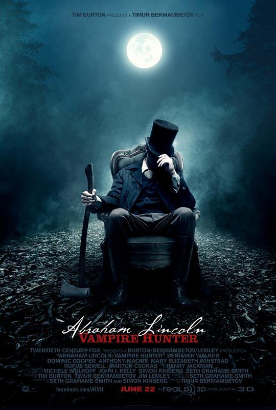 《亚伯拉罕·林肯:吸血鬼猎人》(Abraham Lincoln: Vampire Hunter)最新预告以及制作特辑