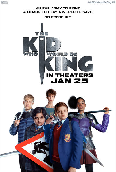 The Kid Who Would Be King - Trailer