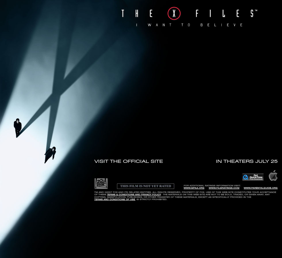 X-Files 2 Trailer Window - Large