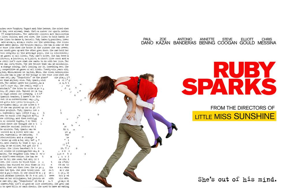 《阳光小美女》导演新作《他爱我》(Ruby Sparks)拍摄幕后花絮