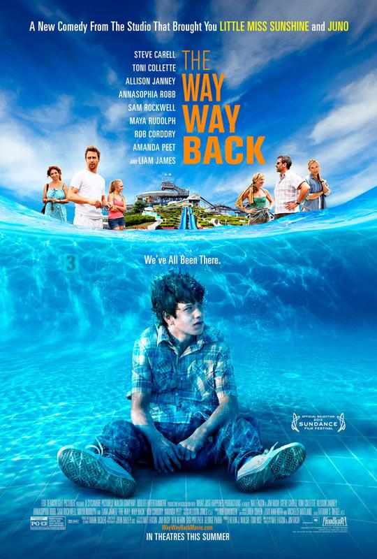 《后人》编剧导演处女作《迷途知返》(The Way, Way Back)预告