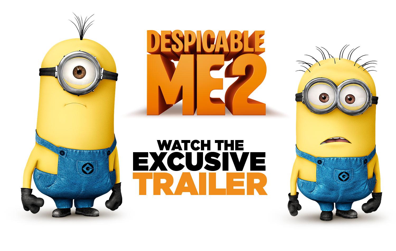 《卑鄙的我2》(Despicable Me 2)首发多国全长预告 萌萌小黄人再来袭