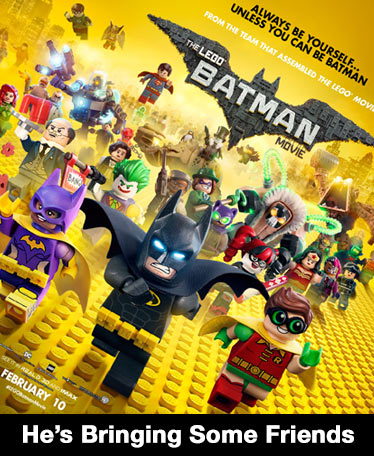 LEGO Batman is coming and he's bringing some friends
