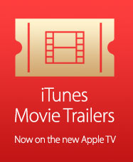Trailers on the new Apple TV