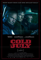 Movie poster to 'Cold in July'