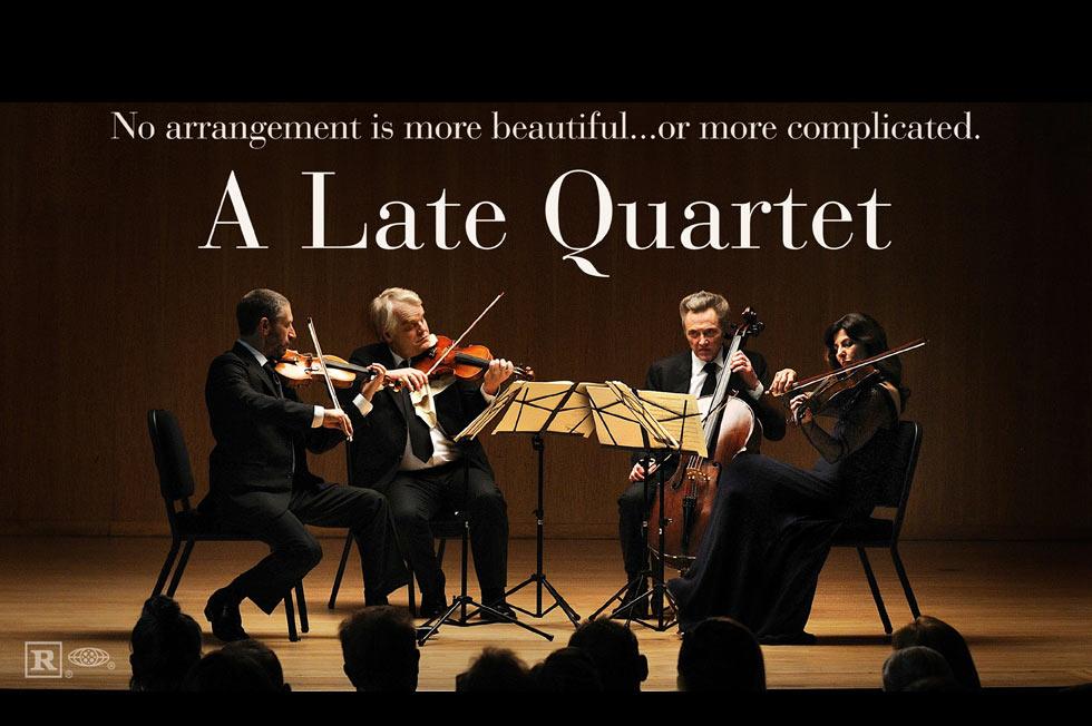 金狮影帝霍夫曼新作《晚期四重奏》(A Late Quartet)首曝预告