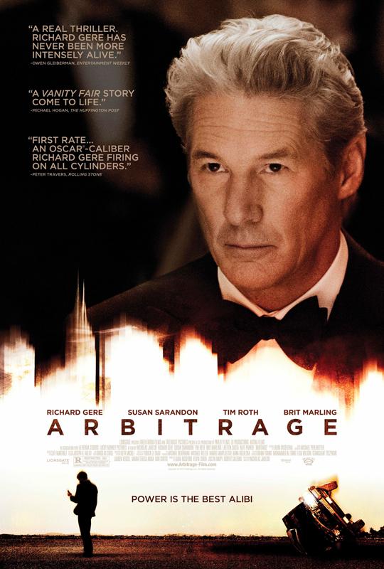 理查·基尔 新片《套利》(Arbitrage)预告片