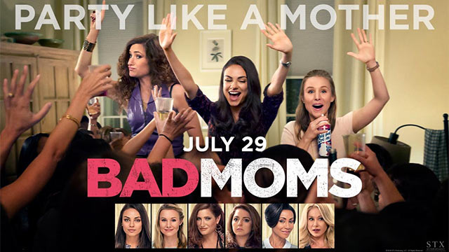 Bad Moms (2016) Watch Online Full Movie