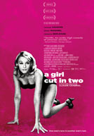 Girl Cut In Two Poster