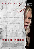 While She Was Out Poster