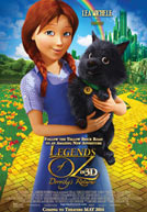 Movie poster to 'Legends of Oz: Dorothy's Return'