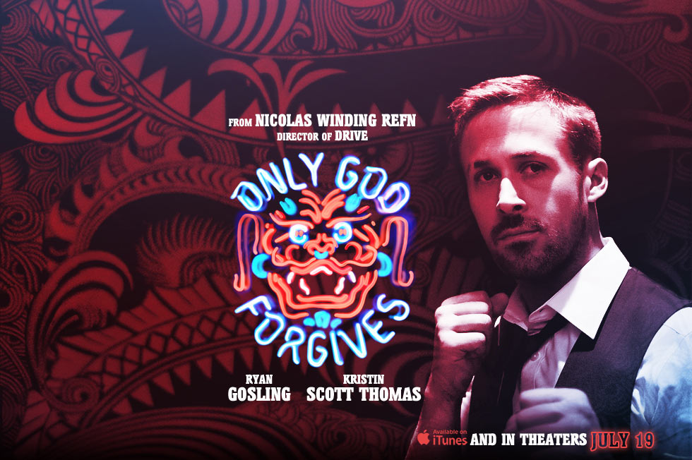 《唯神能恕》(Only God Forgives)iTunes版预告双发 #1&#3