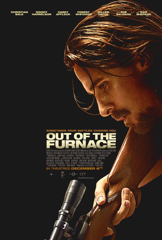 贝尔《逃出熔炉》(Out Of The Furnace)首曝预告 强势气场意指奥斯卡