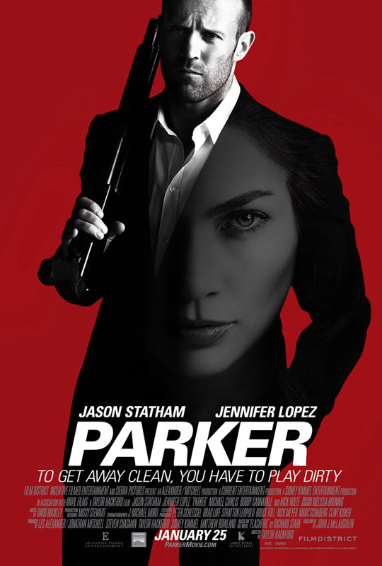 杰森·斯坦森新作《帕克》(Parker)预告