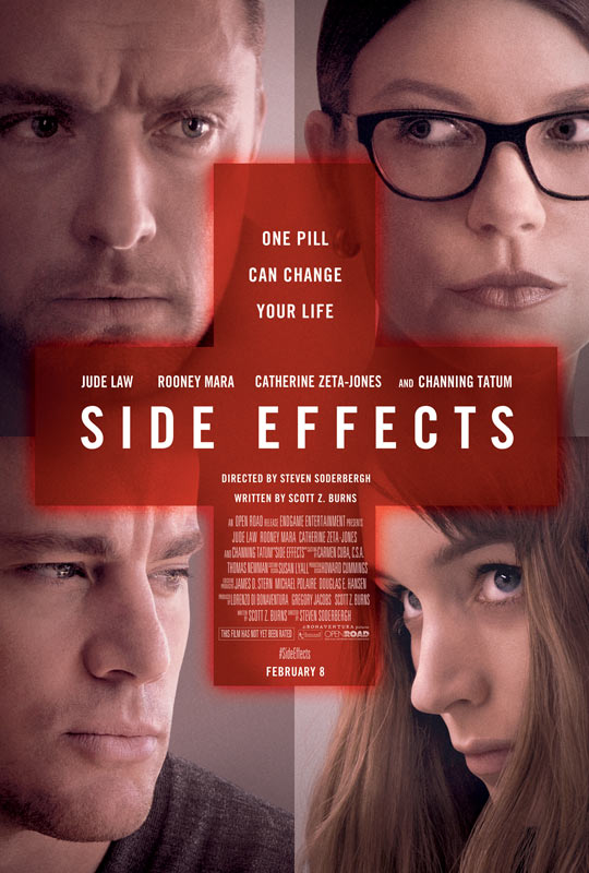 史蒂文·索德伯格《副作用》(Side Effects)最新海报以及预告