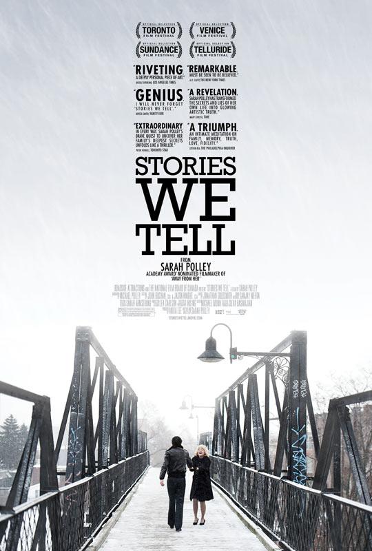 《我们讲述的故事》(Stories We Tell)预告 女星萨拉·波莉执导