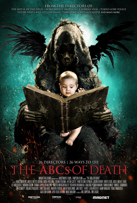 《26种死法》(The ABCs of death) 预告片以及特辑 26个导演26种死法