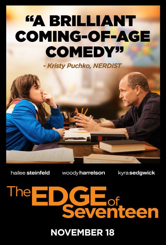 The Edge of Seventeen - Trailer