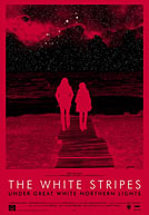 The White Stripes Under Great White Northern Lights Poster