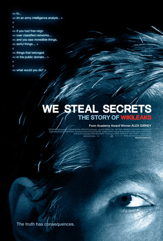 《我们偷窃秘密:维基解密的故事》(We Steal Secrets:The Story of WikiLeaks)预告片