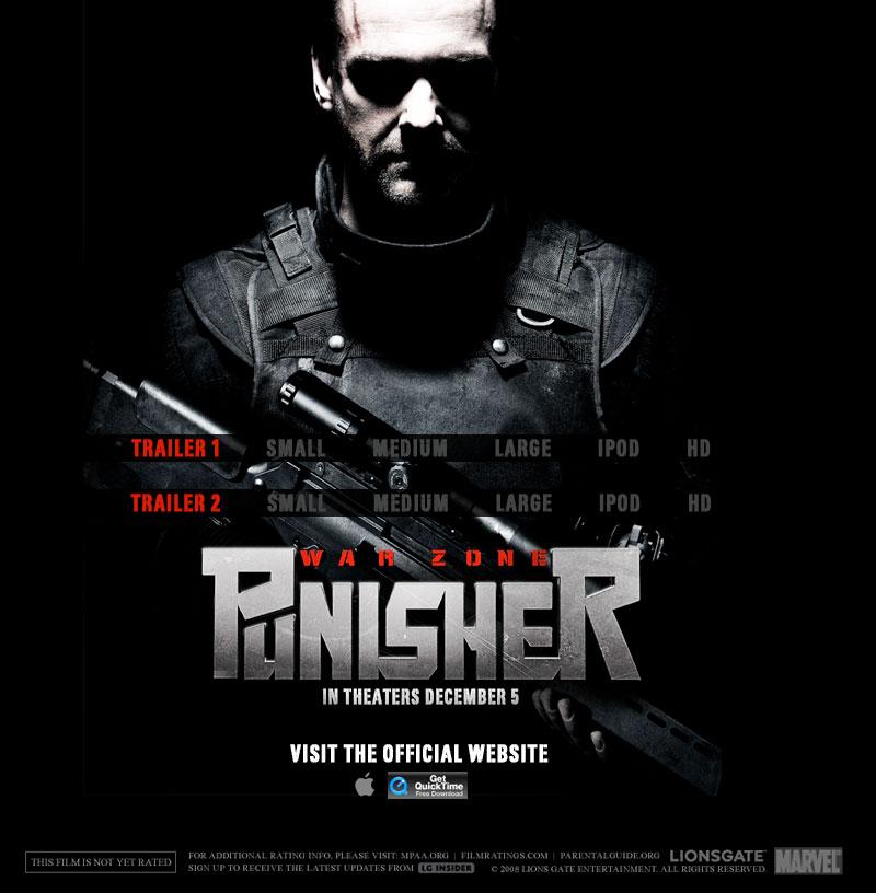 Apple - Trailers - Punisher: War Zone