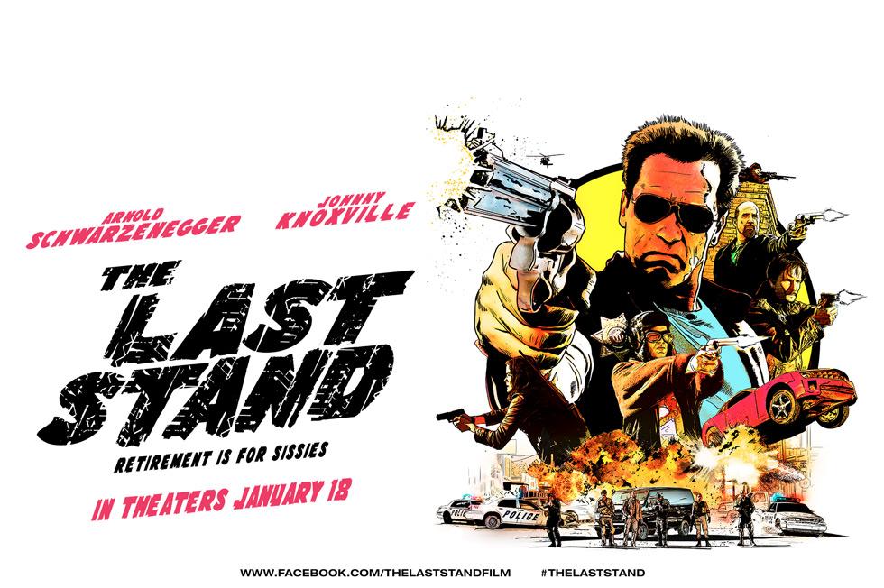 """阿诺《背水一战》(The Last Stand)""""州长""""重回影坛首度担纲主演"""