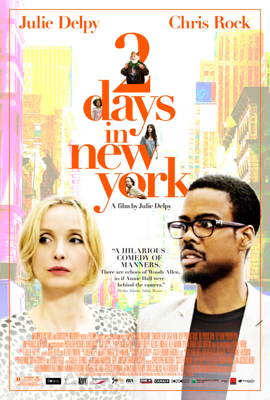 《巴黎两日游》的姊妹篇《纽约两日游》(2 Days in New York)On iTunes