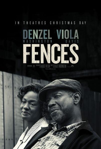 Resultado de imagem para fences film poster