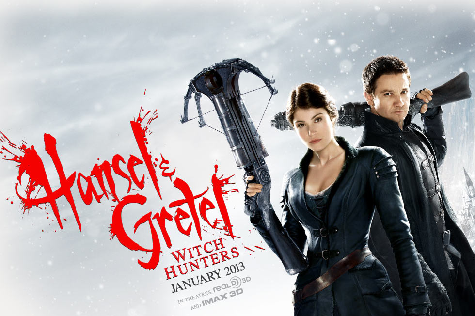 鹰眼新作《韩赛尔与格蕾特:女巫猎人》(Hansel and Gretel: Witch Hunters)首曝预告