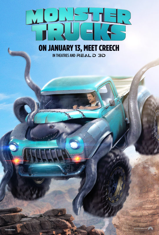 Monster Trucks - Clip: I Touched His Nose