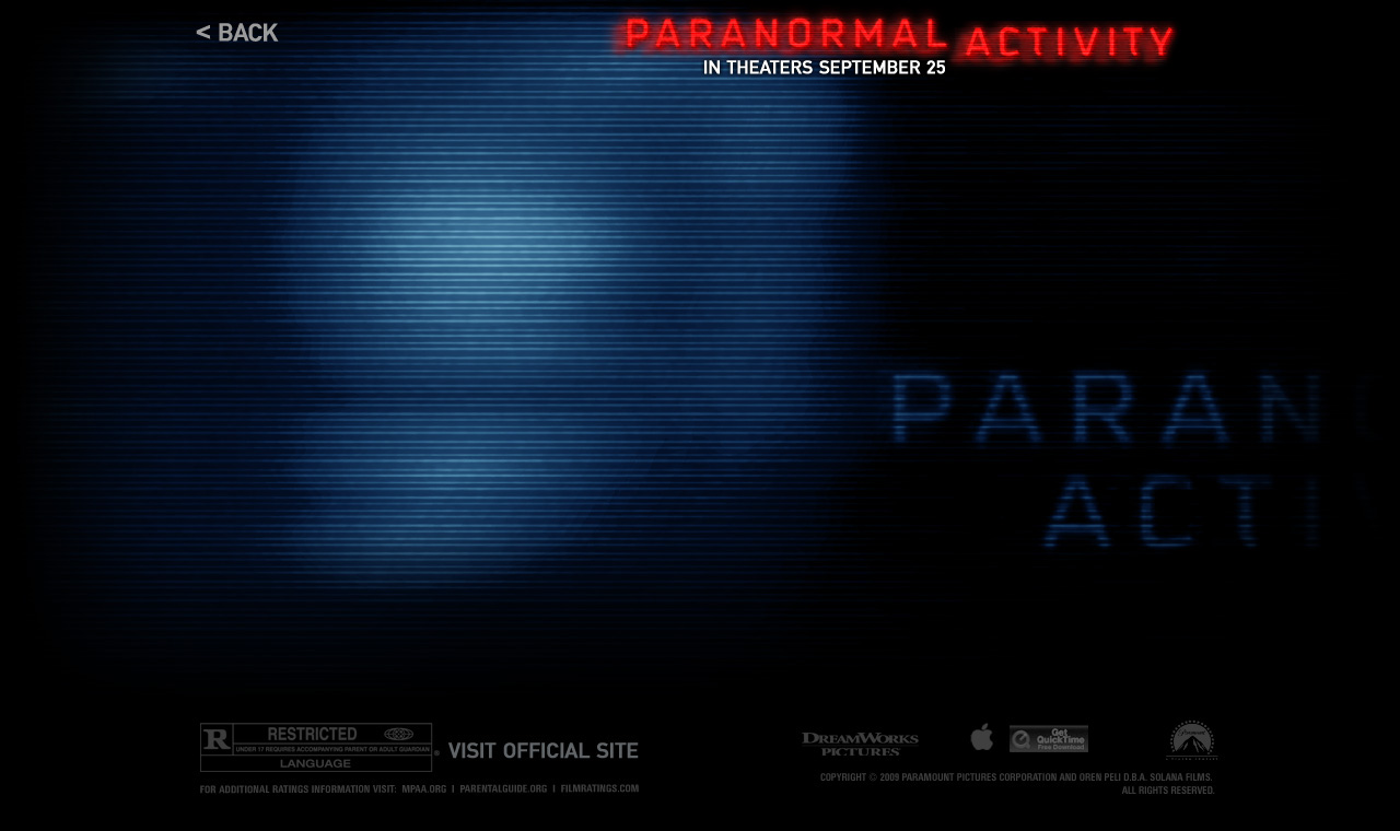 Apple Trailers Paranormal Activity