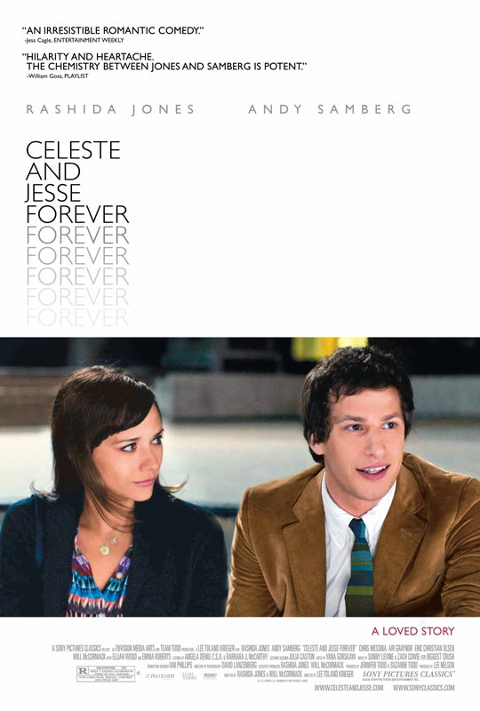 《希勒斯特与杰西/离婚不分手》(Celeste and Jesse Forever)首曝海报及预告片