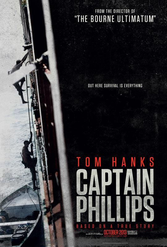 """""""谍影重重""""导演保罗·格林格拉斯新作《菲利普斯船长》(Captain Phillips)预告片"""