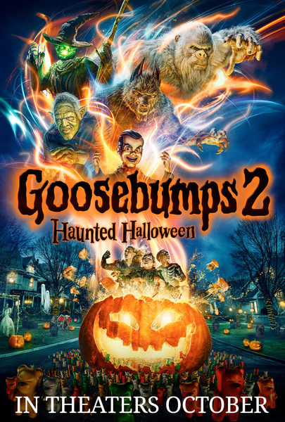 Image result for goosebumps 2 movie poster
