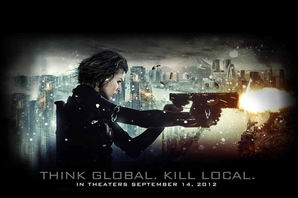 《生化危机5》(Resident Evil: Retribution)剧场版全长预告片 李冰冰英文亮相