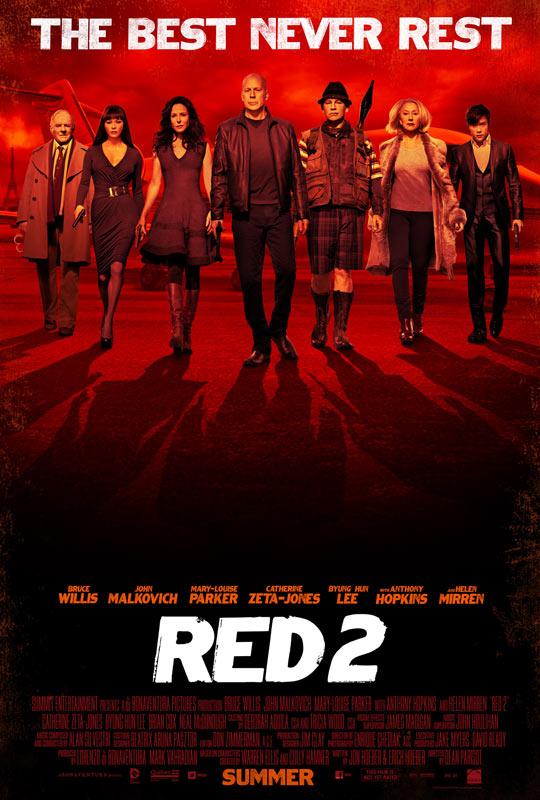 《赤焰战场 2》(RED 2)7分钟超长片段 以及2分钟官方片段