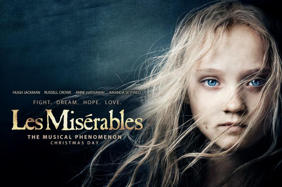 《悲惨世界》(Les Miserables)先行预告片 安妮·海瑟薇的凄婉独唱《我曾有梦》
