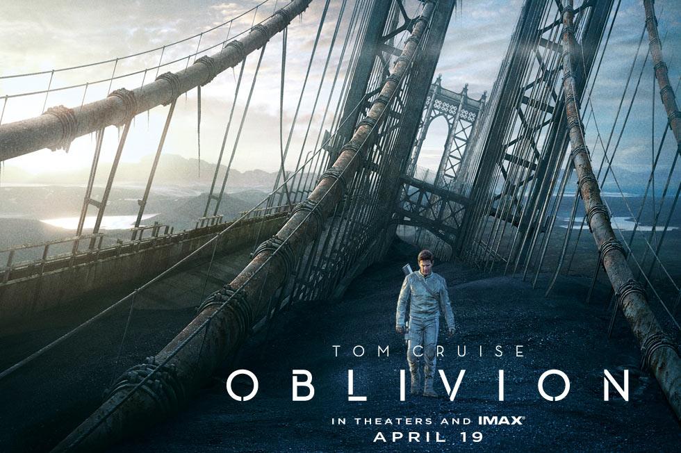 《遗忘星球》(Oblivion)曝终极预告 阿汤哥为地球回忆而战