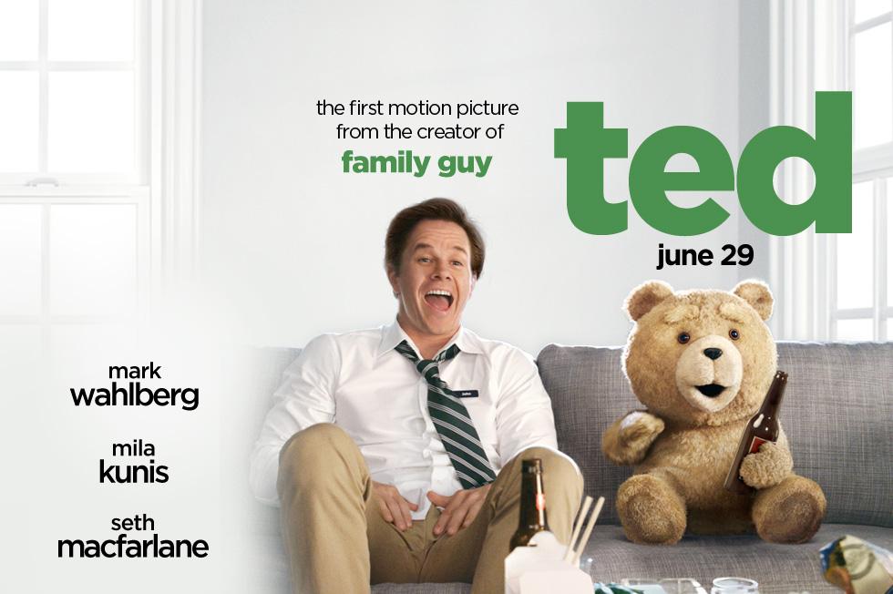 《泰迪熊》(Ted)限制级红标版全长预告片