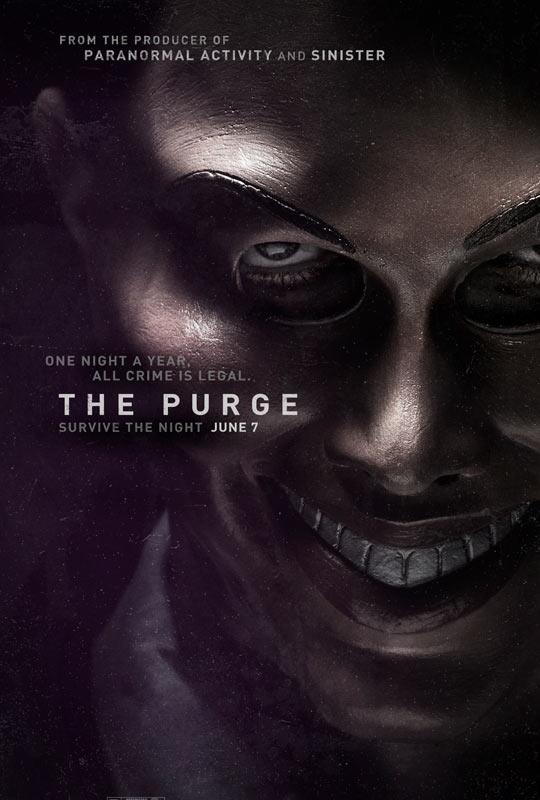 《人类清洗计划》(The Purge)预告片 伊桑霍克琳娜海蒂直面黑暗人性