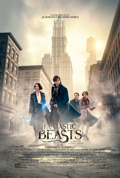 Fantastic Beasts and Where to Find Them - Trailer 5 movie poster